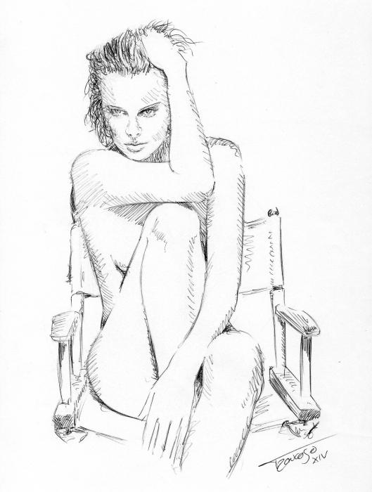 Charlize Theron by troncoman